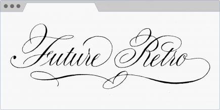 Calligraphy by Stefanie Weigele